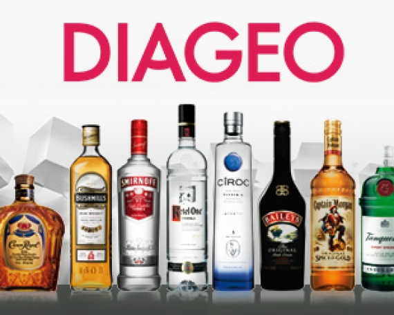 Distribución de productos Diageo